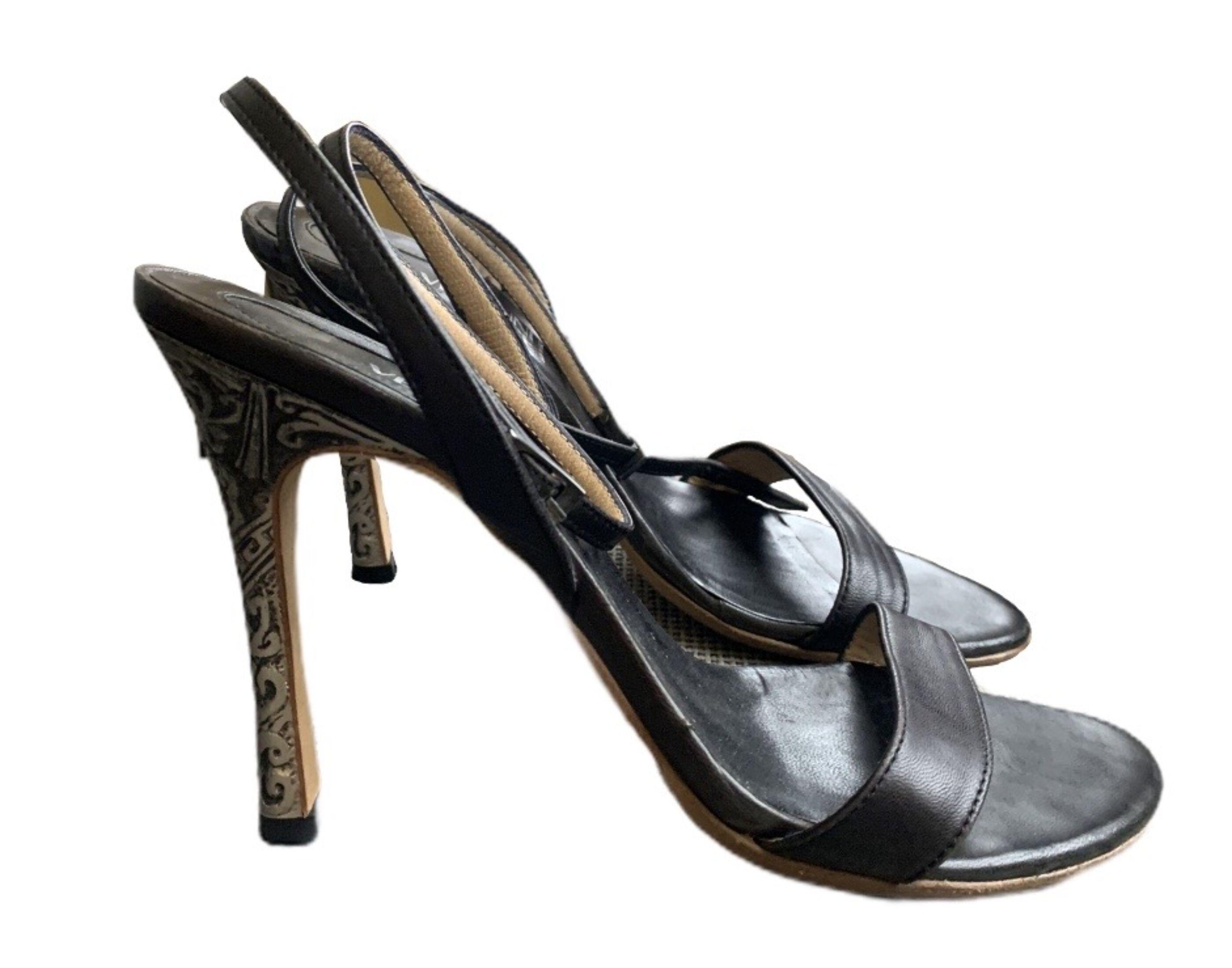 Gianni Versace magassarkú szandál (37 1/2)